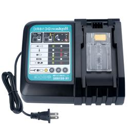 New Lithium ion Battery Charger for Makita 18v Lithium-Ion B
