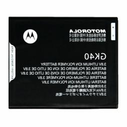 NEW OEM MOTOROLA MOTO G4 PLAY XT1607 XT1609 BATTERY GK40 3.8