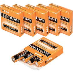 NEW DURACELL PROCELL AAA ALKALINE BATTERIES 24  EXP 5+ YRS
