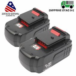 2 Pack 18V 18-Volt NiCd Replacement Battery for Porter Cable