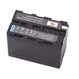 DSTE NP-F970 Replacement Li-ion Battery for Sony DCM-M1 MVC-