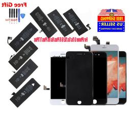 OEM LCD Screen Digitizer Assembly Battery Replacement for iP