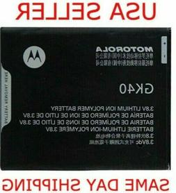 OEM New Battery GK40 Motorola G4 G5 Play E4 XT1607 XT1609 XT