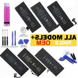 OEM SPEC Replacement Internal Battery For iPhone 5 5C 5S 6 6