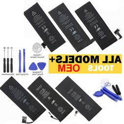 OEM Replacement Internal Battery For iPhone 4 4S 5 5C 5S 6 6