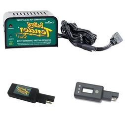 Battery Tender Plus with LCD Voltage Display and USB Charger