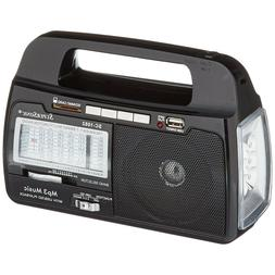 Portable Battery Operated Radio Kitchen AM/FM Camping Best E