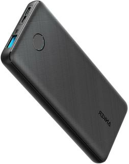 Anker PowerCore Slim 10000, Ultra Slim Portable Charger, 100