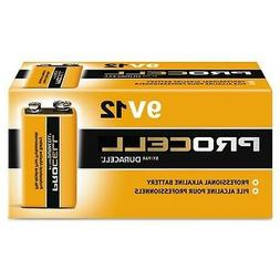 Duracell Procell 9 Volt Batteries, Pack of 12 9V