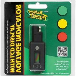 Battery Tender Quick Disconnect Plug With LCD Voltage Displa