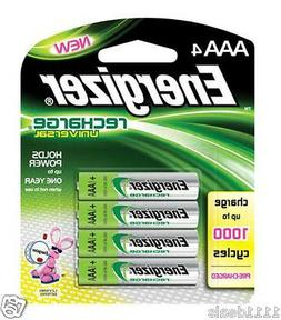 Energizer Recharge  Universal 700 mAh Rechargeable AAA Batte
