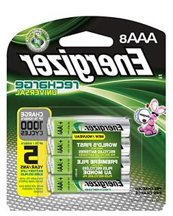 rechargeable aaa batteries universal