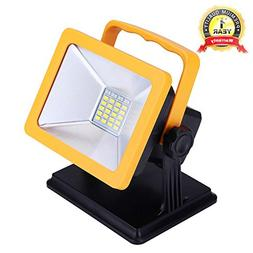 OYOCO Rechargeable LED Work Light with Magnetic Base 15W 6.5
