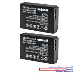 Kastar Replacement Battery Pack for Canon LP-E12 LC-E12 & Ca