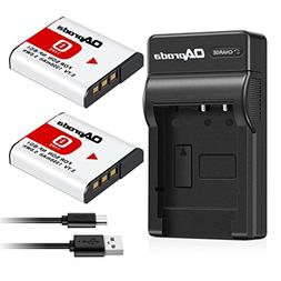 OAproda Replacement NP-BG1 Battery  and Ultra Slim Micro USB