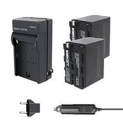Bonacell 8700mAh 2 Pack Replacement Sony NP-F960/ NP-F970 Ba