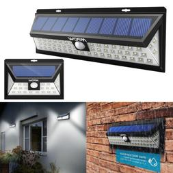Solar Power Wireless Rechargeble Battery LED Security Wall S