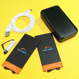 5in1 2x3650mAh Standard Spare Extra Battery Desktop Wall Doc