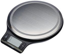 AmazonBasics Stainless Steel Digital Kitchen Scale with LCD