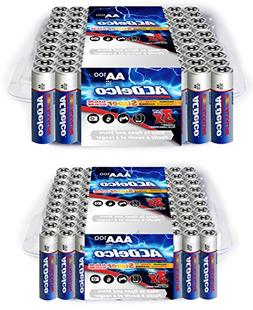 ACDelco AA and AAA Super Alkaline Batteries in Recloseable P