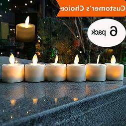 LED Tea Light Candles,Battery Operated Warm White Flameless