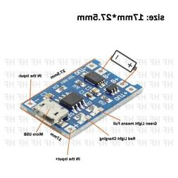 TP4056 5V 1A Micro USB 18650 Lithium Battery Charger Board P