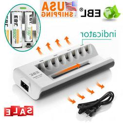 Battery Charger for AA AAA NI-MH NI-CD Rechargeable Batterie