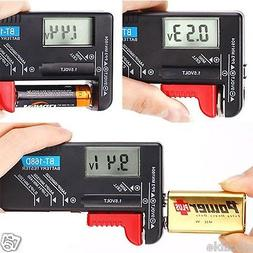 Universal Battery Voltage Tester Digital Display Checker AAA