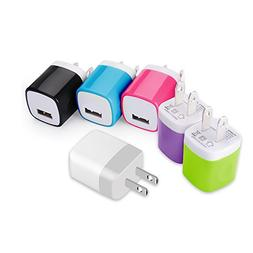 Asstar Universal USB Power Adapter Wall Charger, Easy Grip H