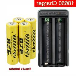 US Rechargeable Lithium 18650 Battery Charger for Flashlight