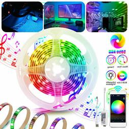 Waterproof 6.5ft RGB 5050 LED Smart Home WIFI Strip Light Fi