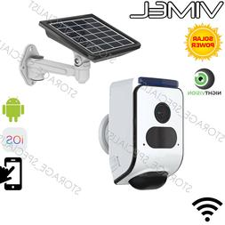 Wireless Home Security Camera for Home Solar battery power W